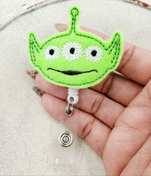 Toy Story Alien Badge Reel - love tan co.