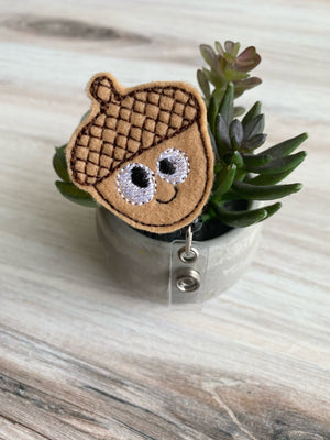 Acorn Badge Reel