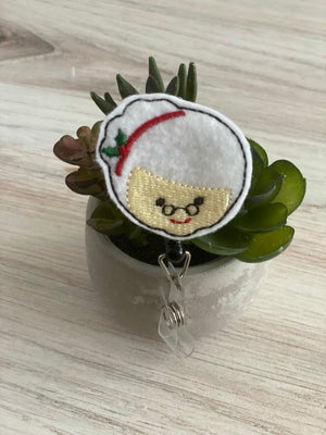 Mrs Claus Badge Reel