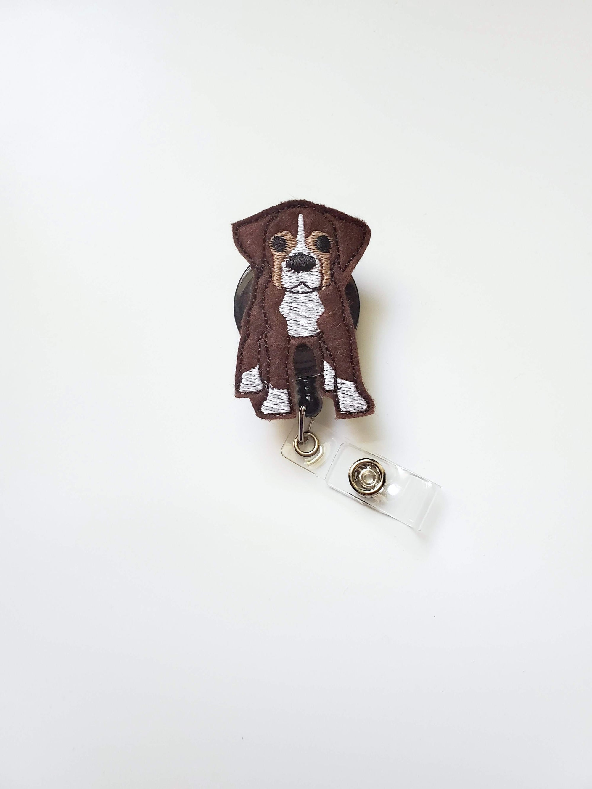 Boxer Badge Reel
