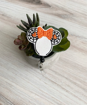 Minnie Ears Badge Reel