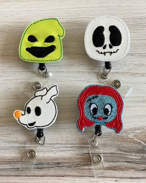 Nightmare Before Christmas Inspired Badge Reel
