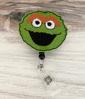 Oscar the Grouch Badge Reel