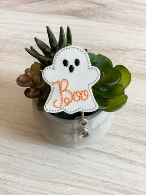 Boo Ghost Badge Reel