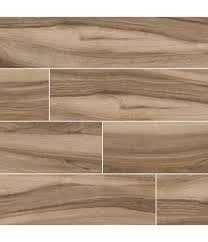 "MSI Aspenwood Cafa 9""X 48"" Porcelain Wood Look Tile"