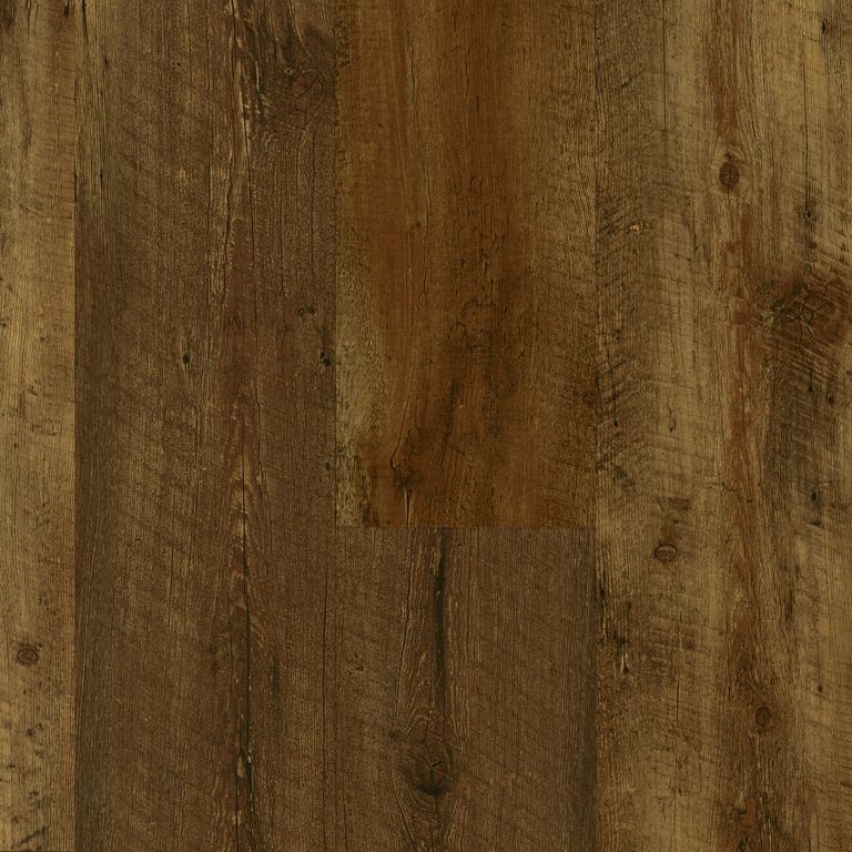 Luxe Farmhouse Plank Rugged Brown Rigid core