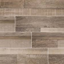 "Sierra Sage 9""X 48"" Matte Porcelain Wood Look Tile"