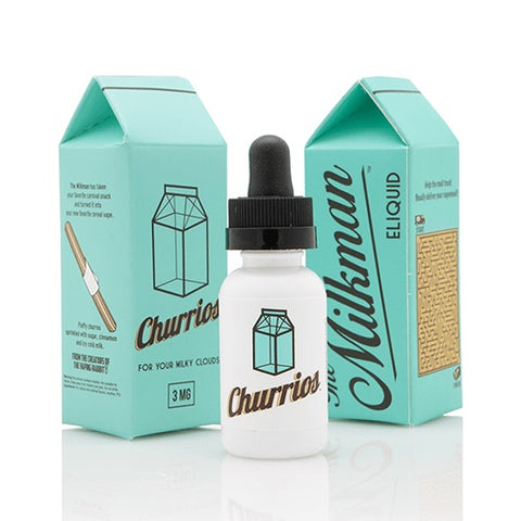 bottle of churrios ejuice