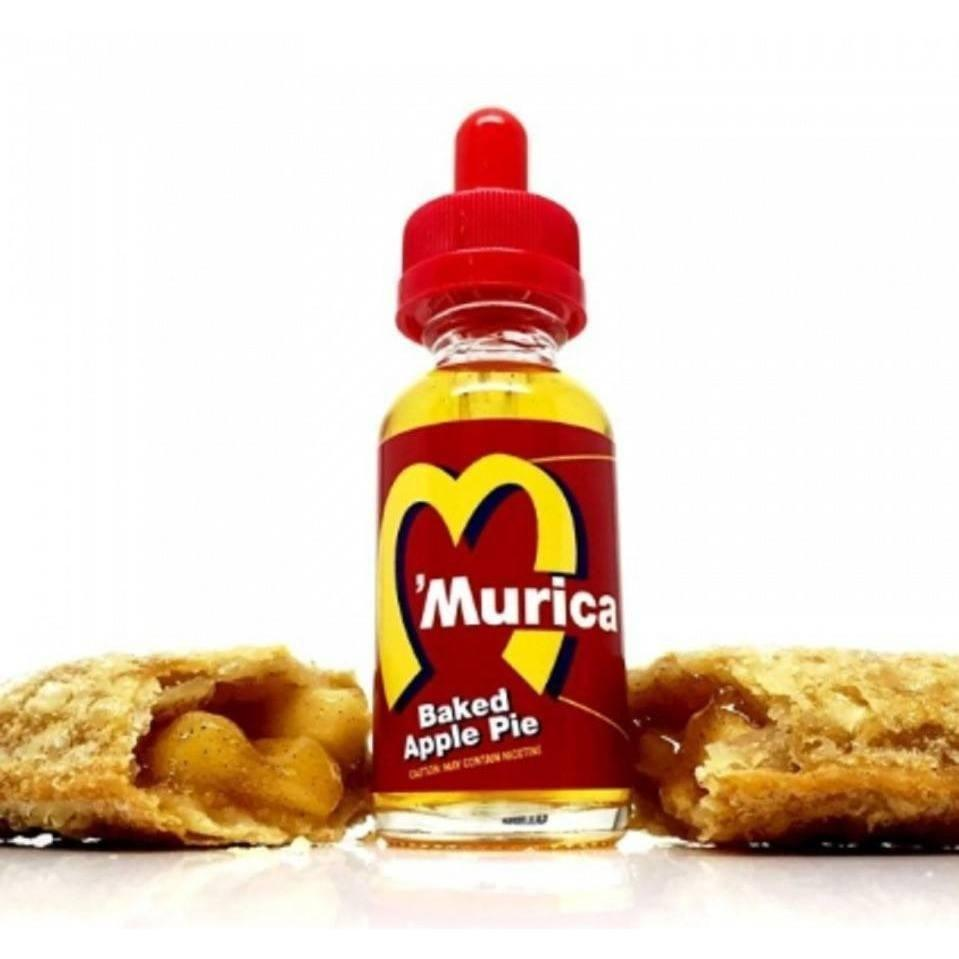 Baked Apple Pie by Murica | 30mL Apple Pie EJuice 0mg- House Of Clouds - House Of Clouds - Vape Shop