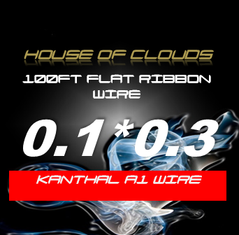 KANTHAL A1 100FT FLAT RIBBON WIRE