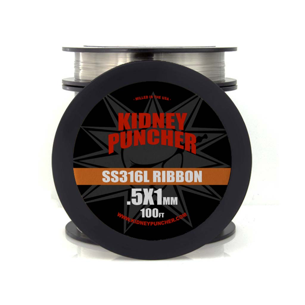 Kidney Puncher SS316L Ribbon Wire 100FT