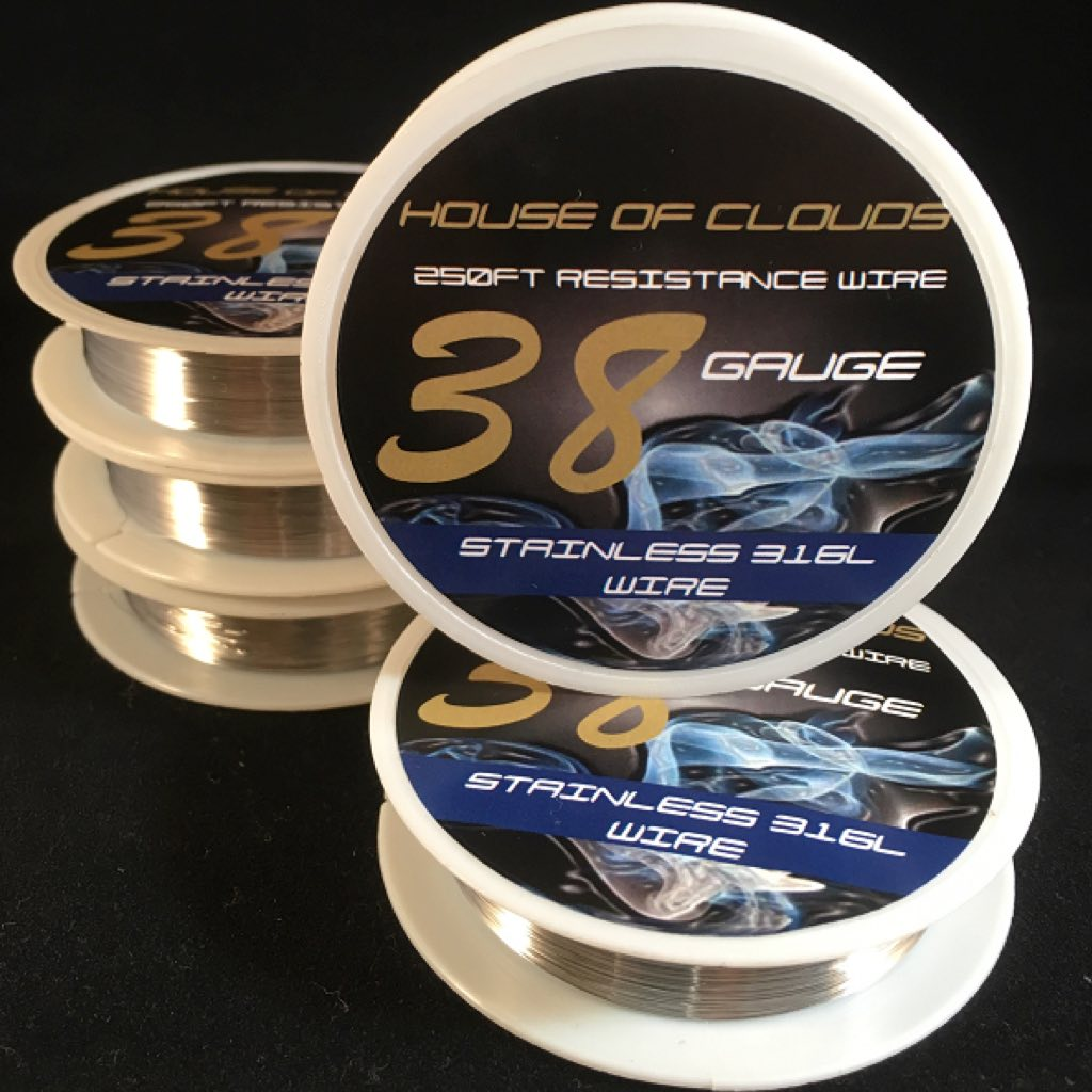 Stainless Steel 316L - 250FT Spool Resistance Wire