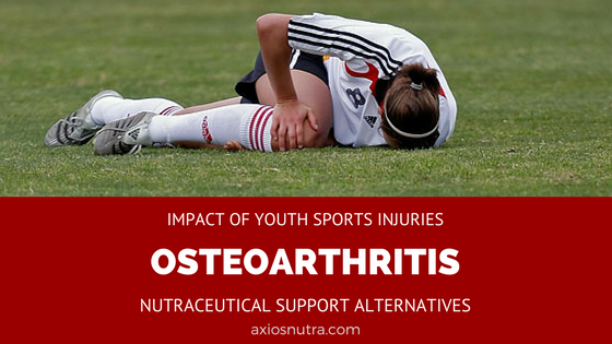 Impact of Youth Sports Injury on Joint Arthritis- Natural Alternatives to Reduce Osteoarthritis Progression
