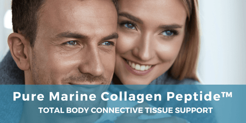 pure marine collagen peptide connective tissue support
