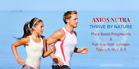 Axios Nutra Polyphenol and Collagen Supplements
