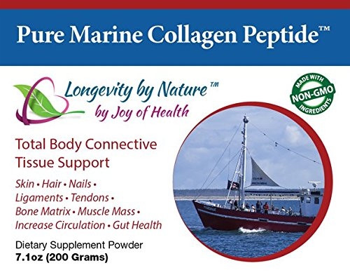 Pure Marine Collagen Peptide™ Powder - 100% Hydrolyzed