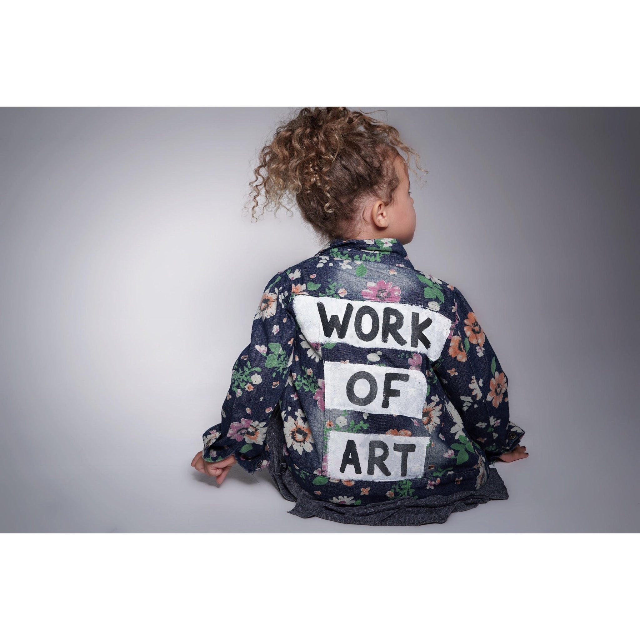 WOA | Girls Floral Jacket