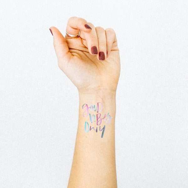Good Vibes | Temporary Tattoo