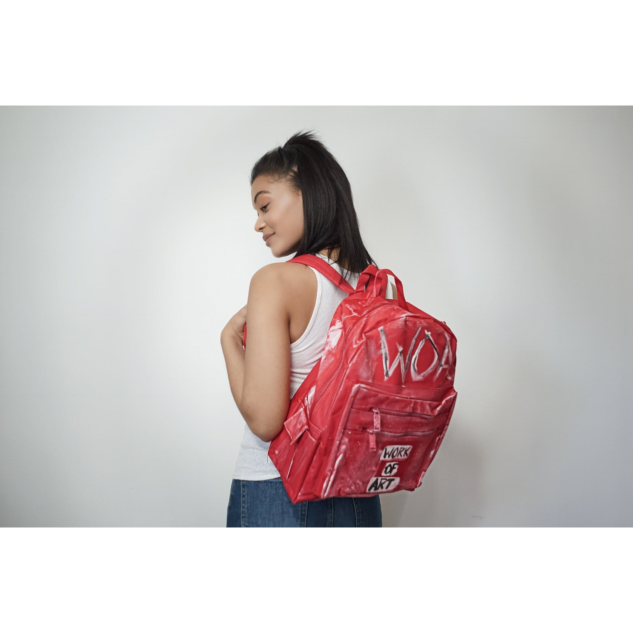 WOA | Red Backpack