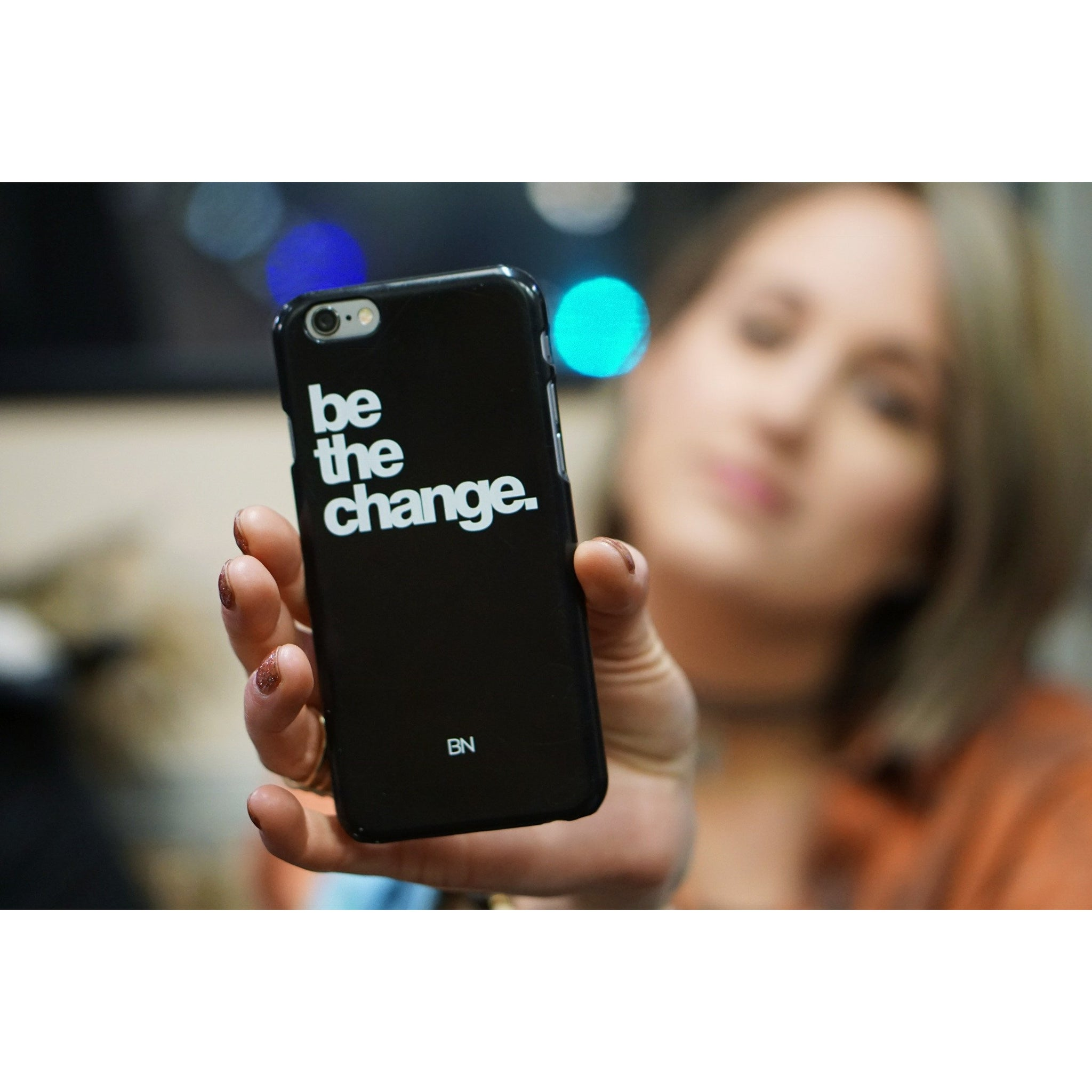 Be the Change | iPhone case