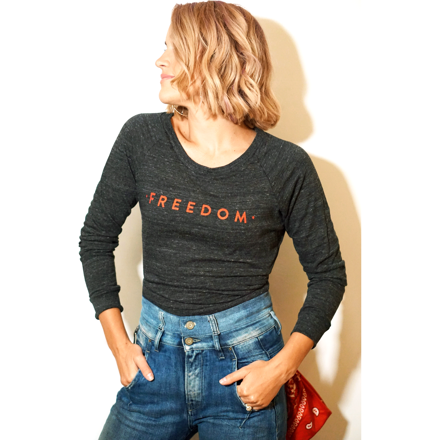 Freedom Shirt | Grey Long Sleeve