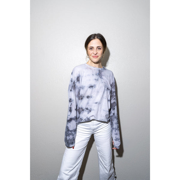 WOA | Soft Long Sleeve Tie Dye Tee