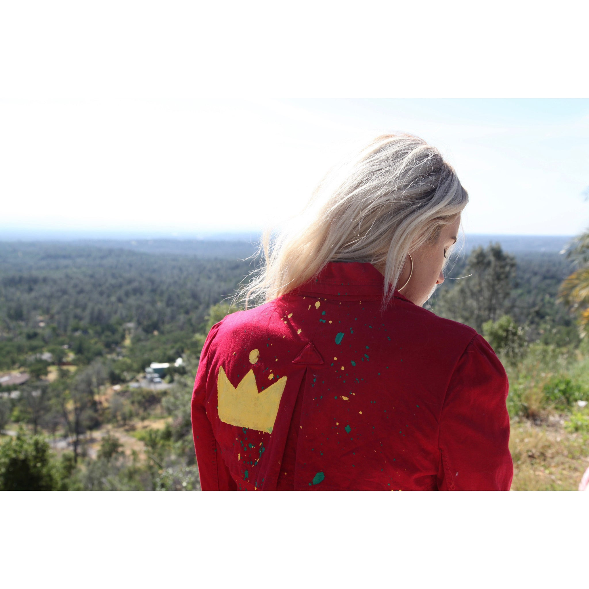 WOA | RED GLORY AND HONOR JACKET