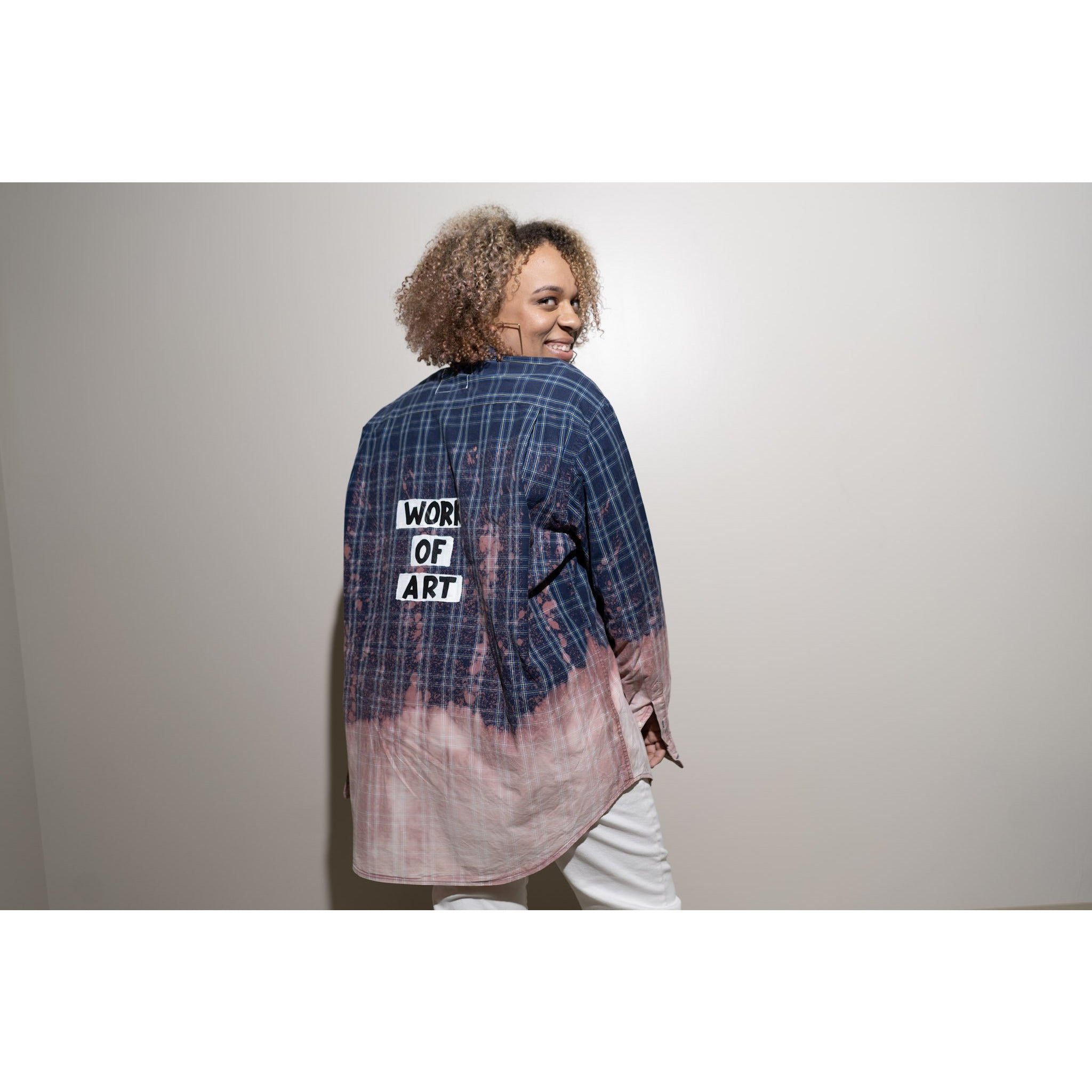 WOA | HAND DYED FLANNEL 12