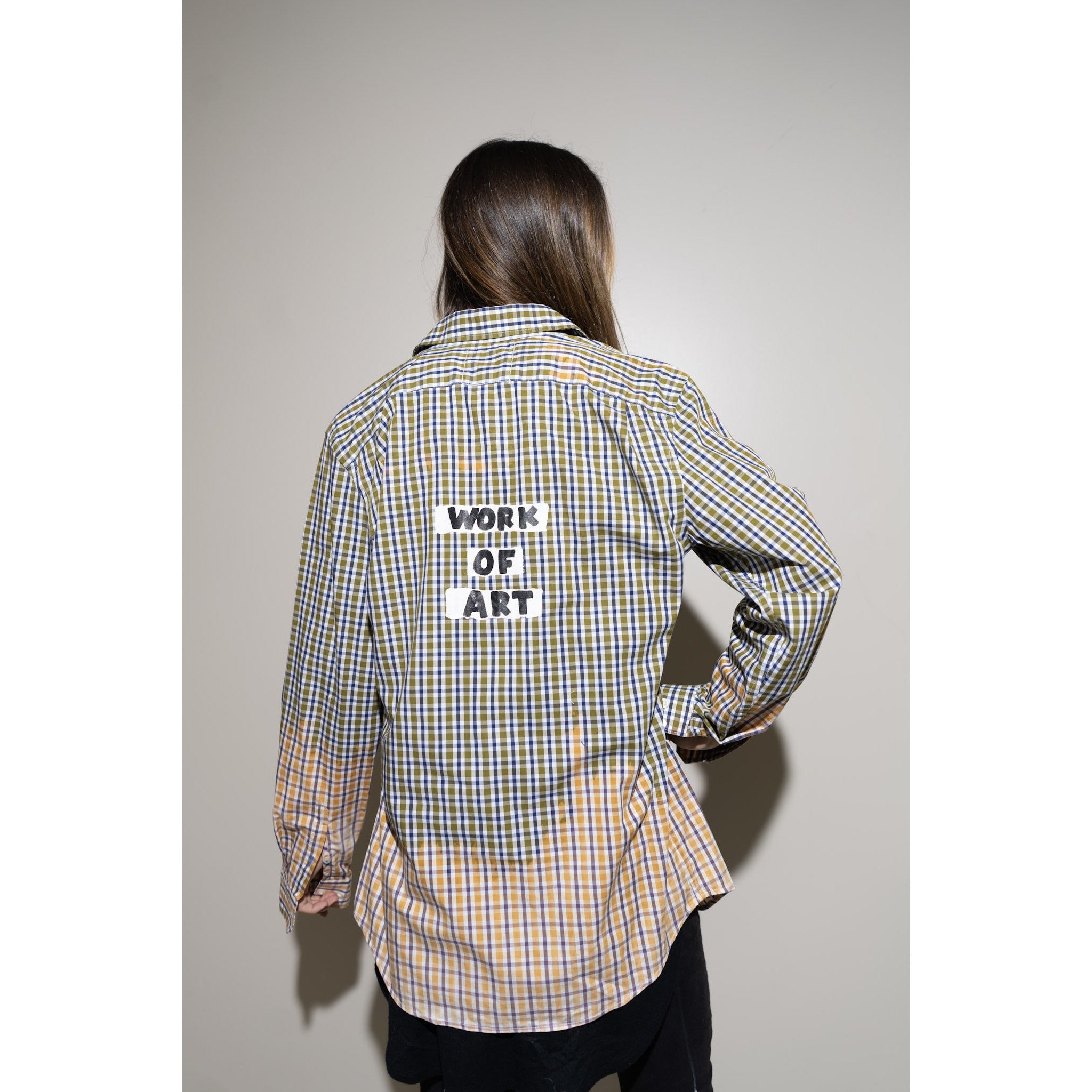 WOA | HAND DYED FLANNEL 14