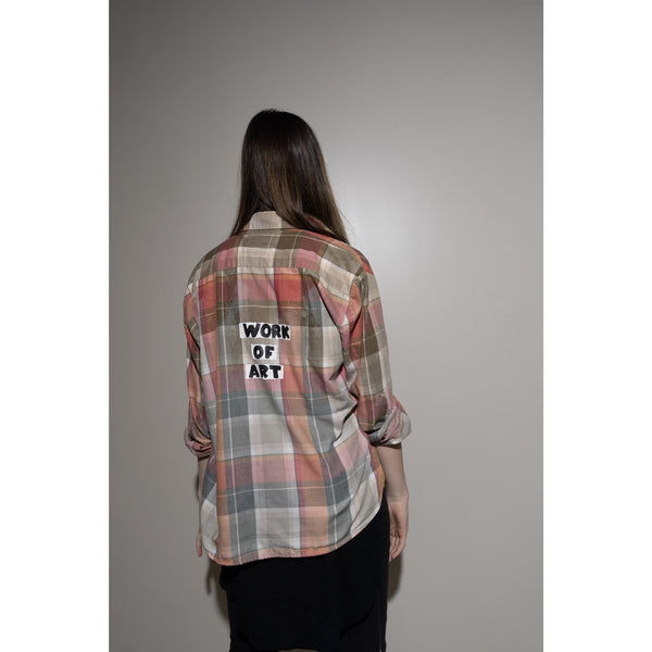 WOA | HAND DYED FLANNEL 17