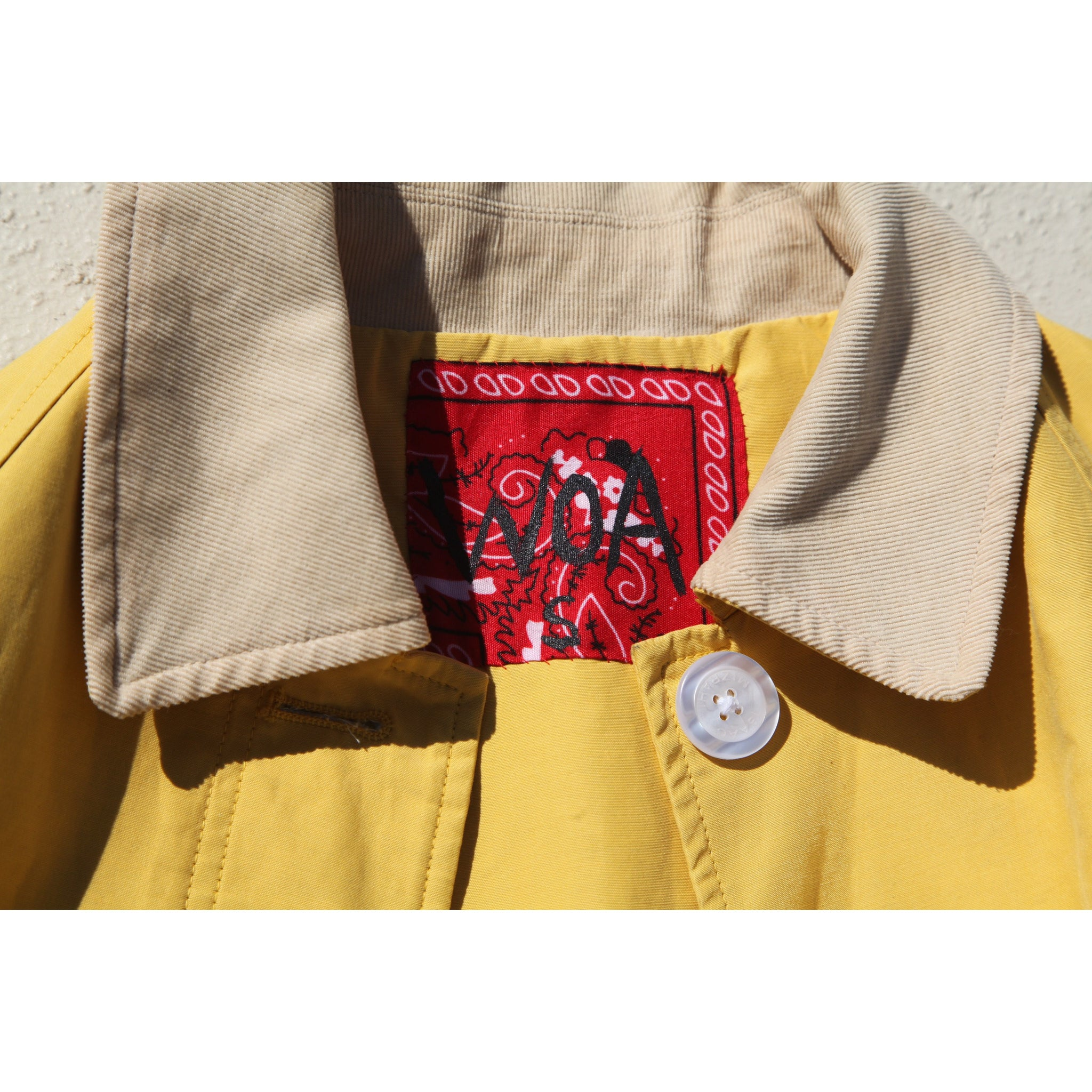 WOA | YELLOW GLORY AND HONOR JACKET