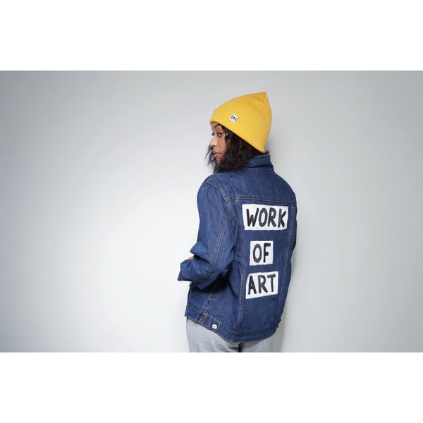 WOA | Dark Denim Jacket
