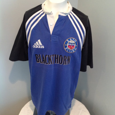 8e315e6f8e6 Adidas Bath Rugby size L or XL awesome old-school jersey