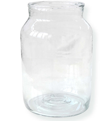10-Liter Mason Jar from Recycled Antique Glass