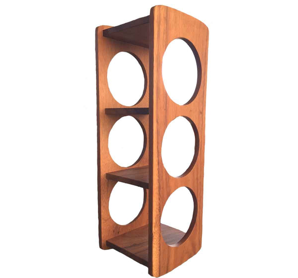 Countertop 3-Bottle Wine Rack from Acacia Wood
