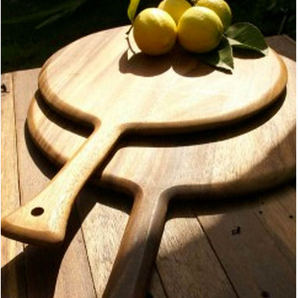 Acacia Wood Serving Paddle with Handle