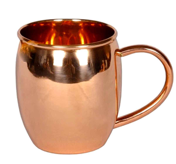 Genuine 100% Solid Copper 16oz Mug