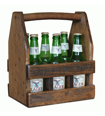 Personalized 6-Bottle Beer Caddy