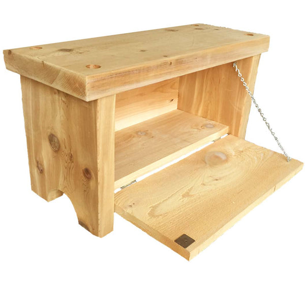 FSC Certified Garden Seat and Toolbox