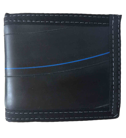 Bi-Fold Wallet from Upcycled Bicycle Inner Tubes