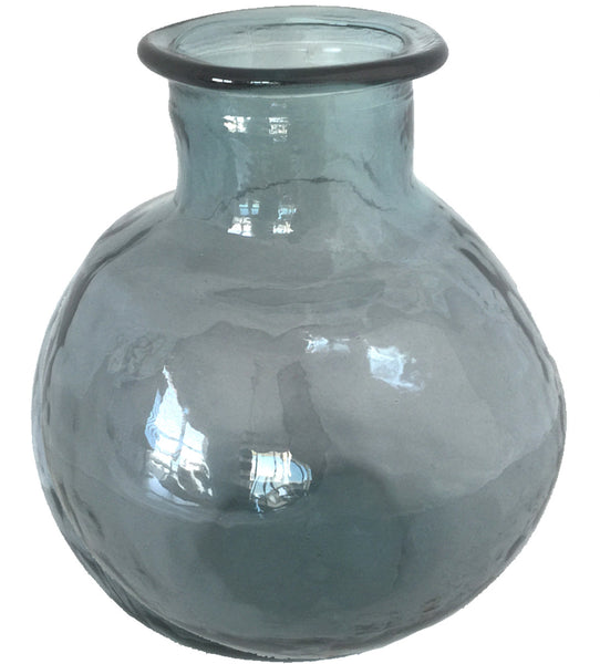 Vintage Recycled Glass Balon Vase