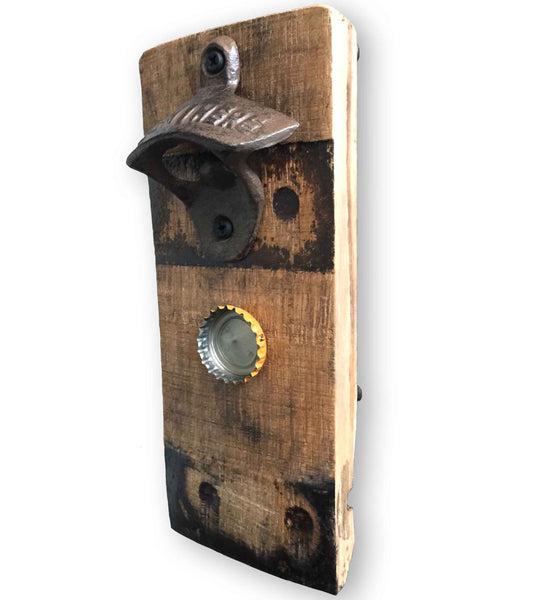 Jim Beam Bourbon Barrel Magnetic Bottle Opener