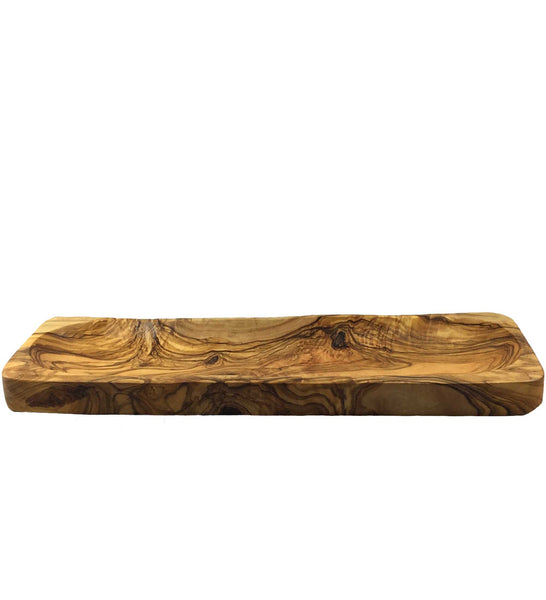 Olive Wood Thin Rectangular Tray