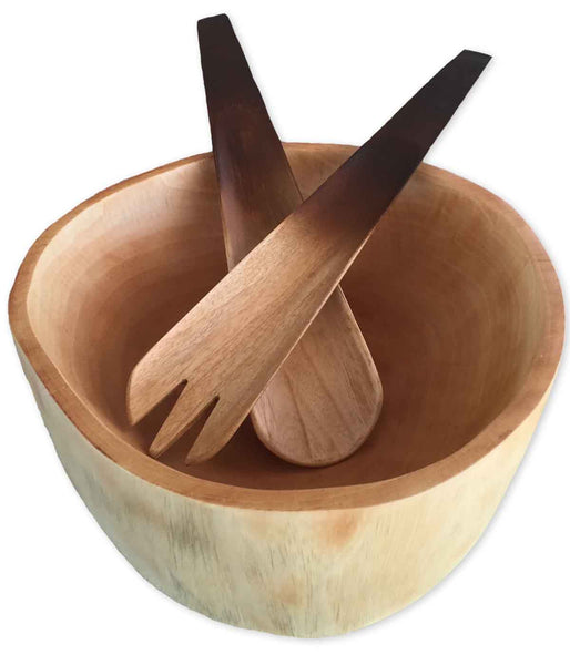 Organic Mango Wood Serving Bowl