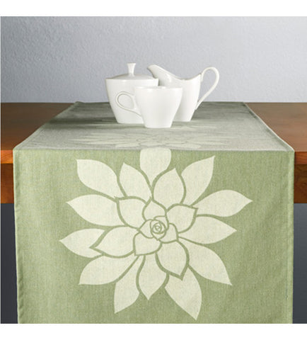 Sage Bloom 100% ECO-Friendly Table Runner