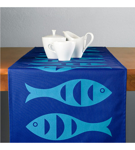 Blue Fish 100% ECO-Friendly Table Runner