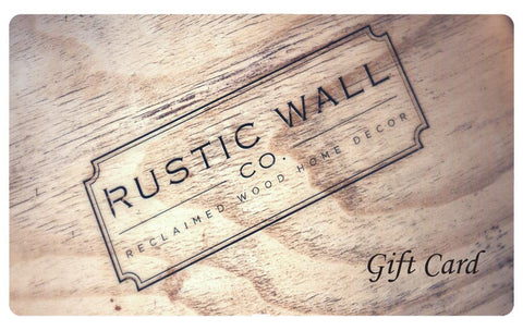 Digital Rustic Wall Co. Gift Card