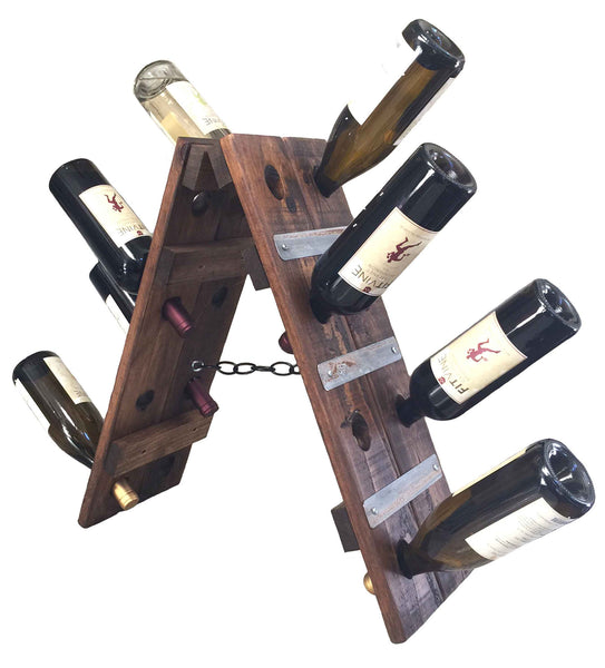 Tabletop French Riddling Wine Rack
