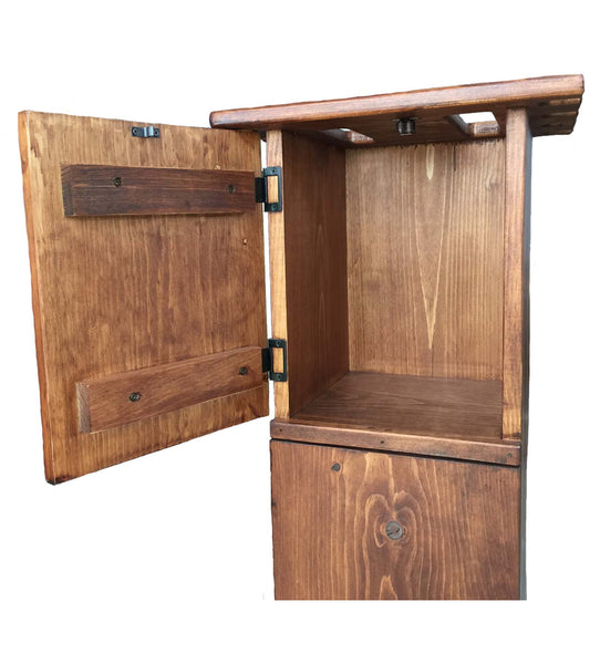 Personalized Billiards Pool Game Storage Cabinet