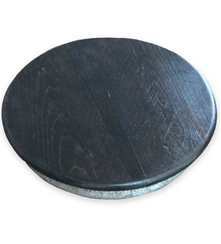 Urban Chic Lazy Susan from Retired Wine Barrels, 14-Inches